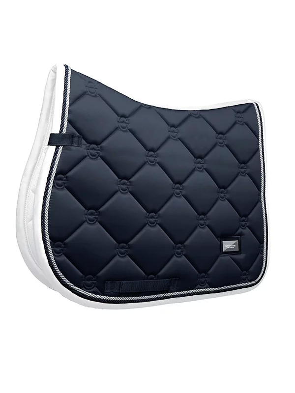 Equestrian Stockholm Hoppschabrak Midnight White Edge Full