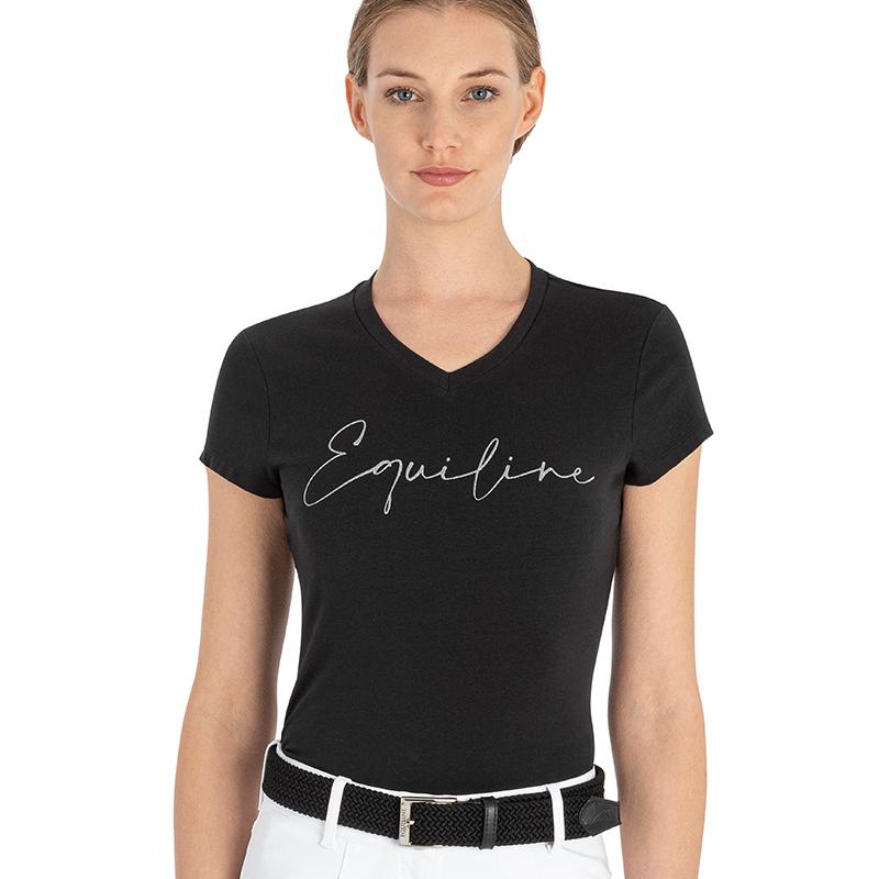 Equiline Guendag T-Shirt svart