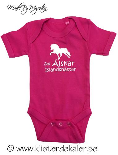 Baby Body - Jag älskar islandshästar