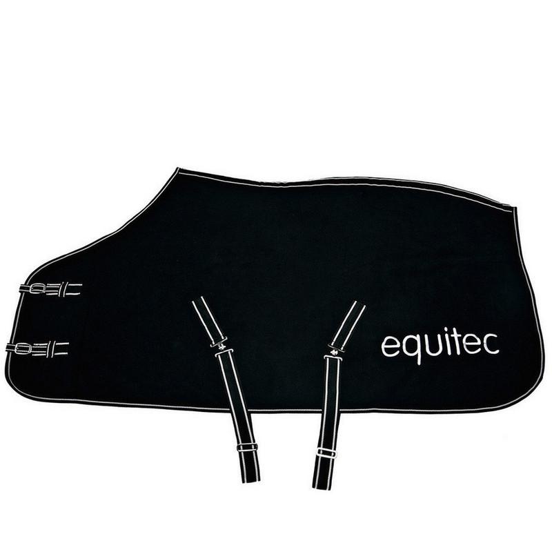 Fleecetäcke Equitec 125 svart