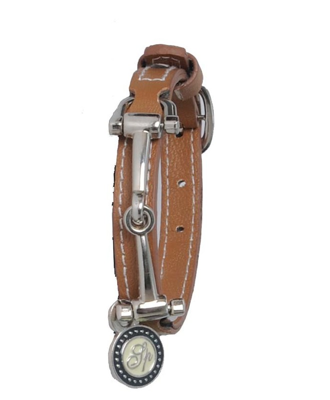 Spooks Läderarmband brun