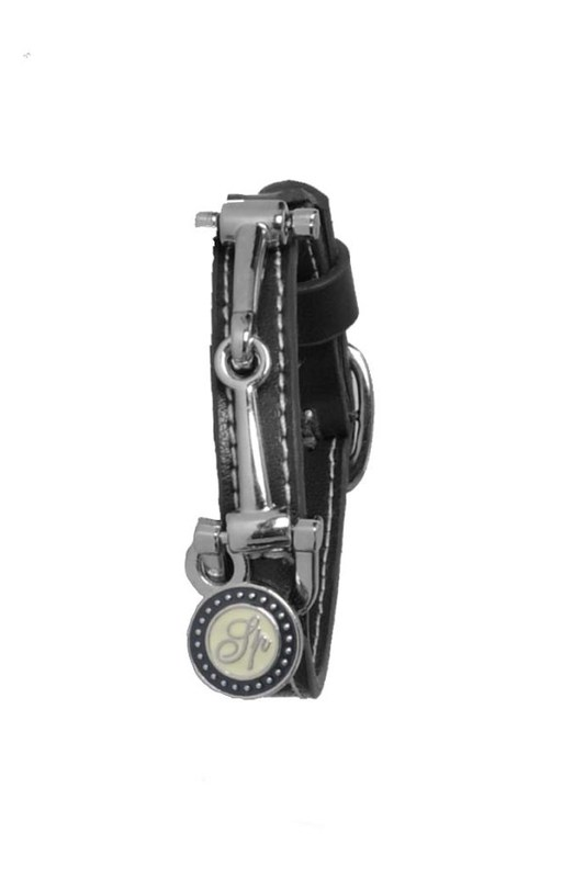 Spooks Läderarmband svart