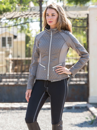 Good Rider Action Jacket Pewter