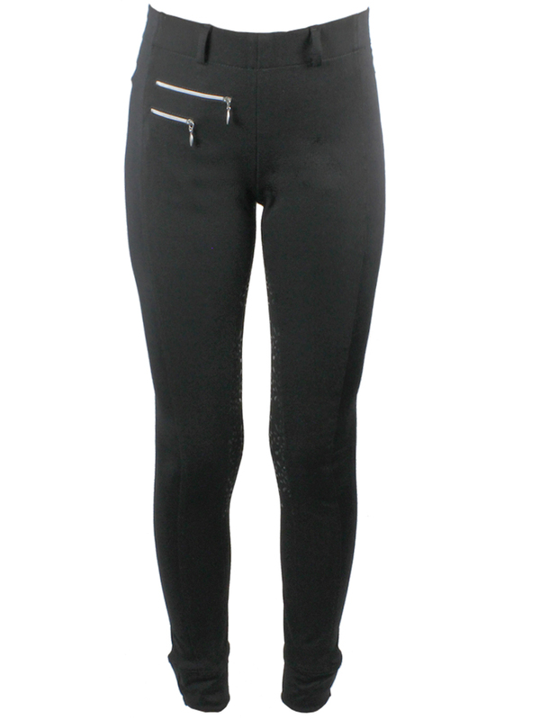 Ridtights Equestrian Leaves Power-grip
