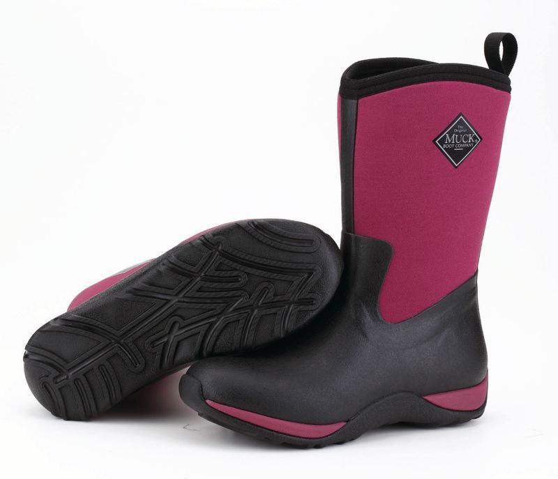 Muck Boots Arctic Weekend vinröd