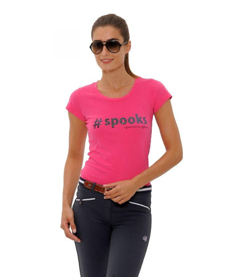Spooks T-shirt Maren cerise