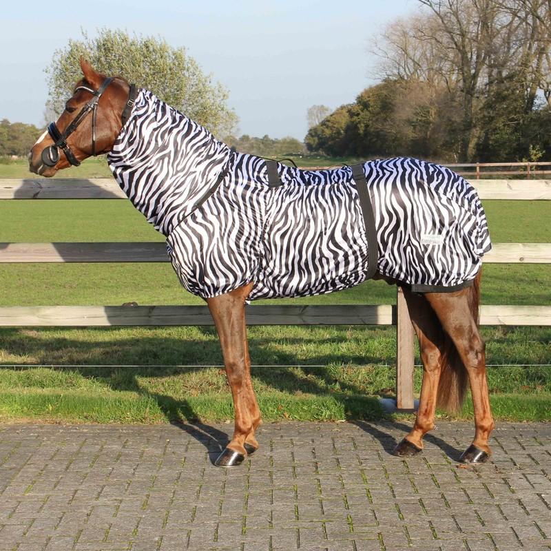 Eksemtäcke QHP zebra