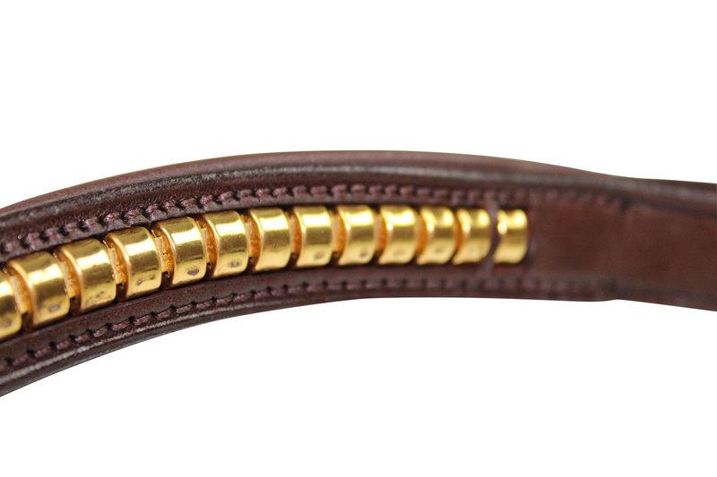 Hilbar Pannband brun klincher