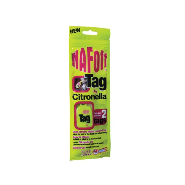 NAF Citronella Tags