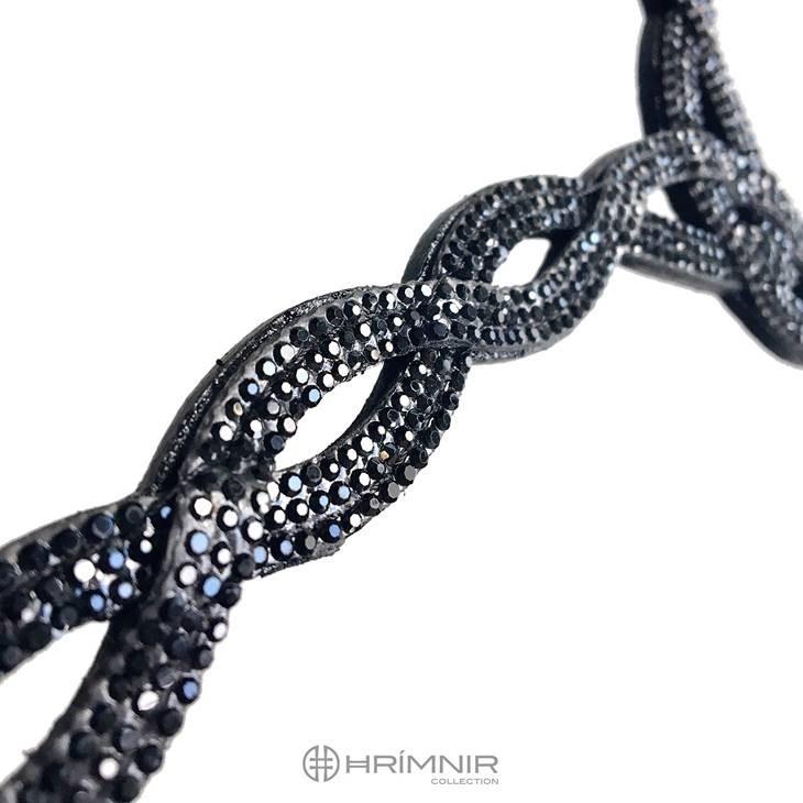 Hrimnir Pannband Black Lava