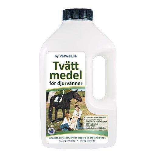 PetWell Tvättmedel för djurvänner 1l