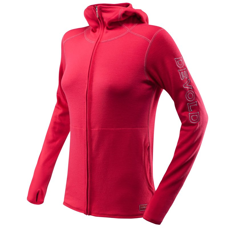 Devold Optimum Woman Jacket röd