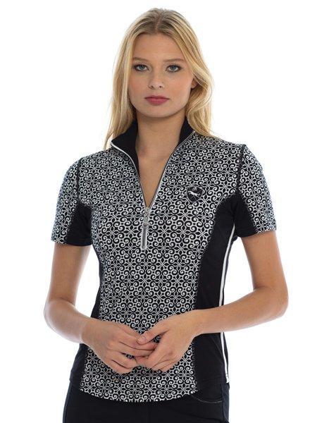 Goode Rider Ideal Show Shirt Black Swirl