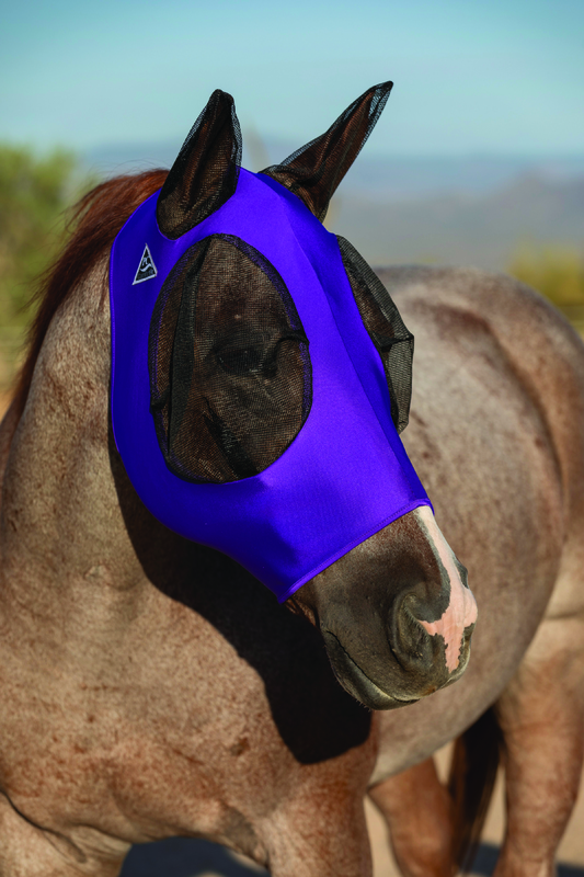 Comfort Fit Fly Mask Purple