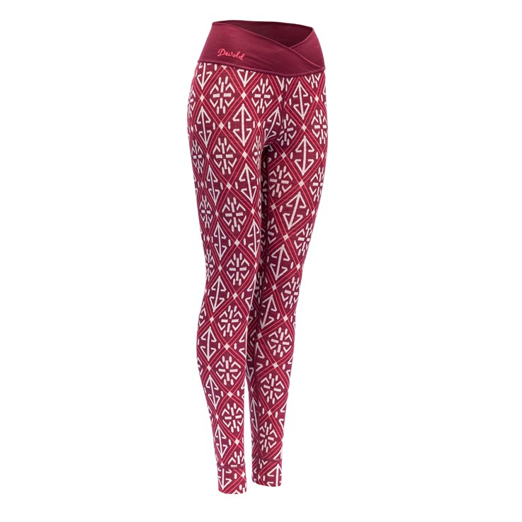 Devold Liadalsnipa Woman Long Johns Beetroot