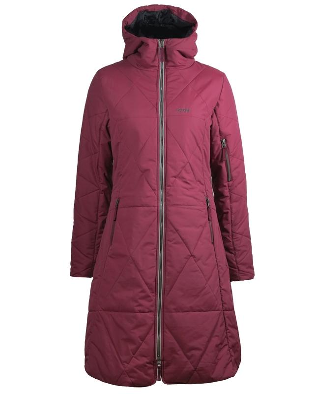 Skhoop Nikki Coat Ruby Red
