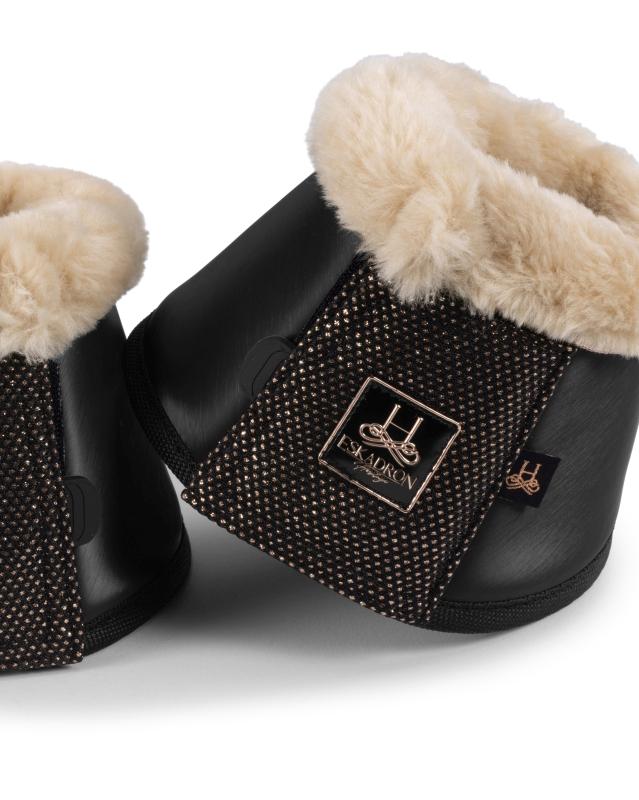 Eskadron Boots Softslate Faux Fur Svart
