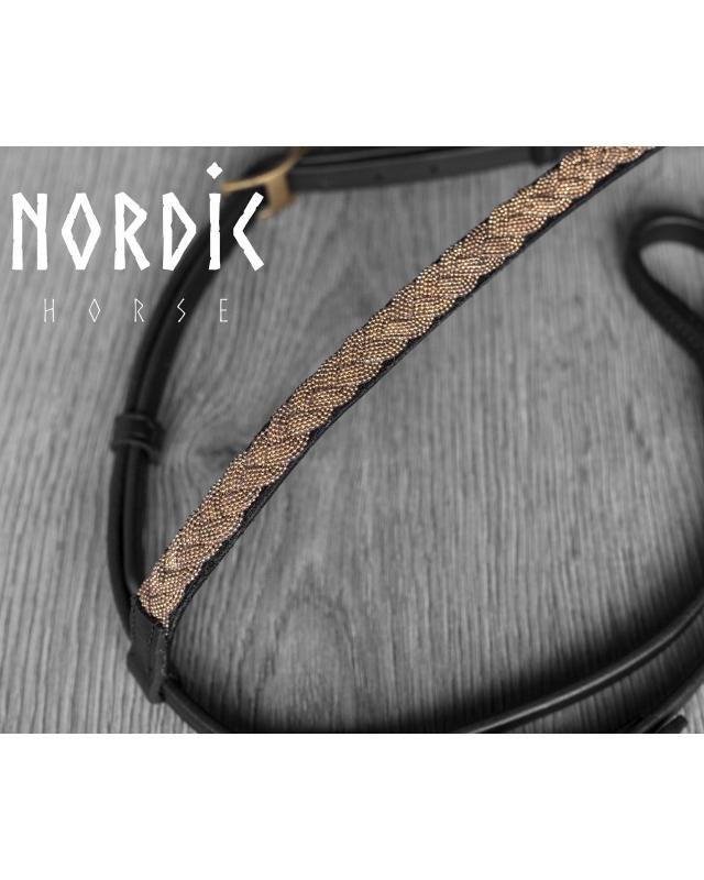Nordic Horse Flätat Huvudlag Rosé
