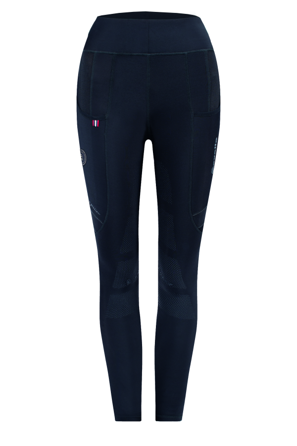 Cavallo Lin Fodrade Rid-tights Grip svart
