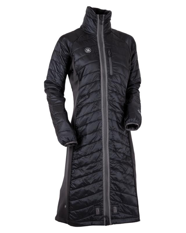 Uhip Wool Hybrid Liner Coat Blue Graphite