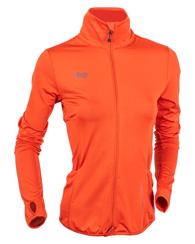 Uhip Technical Full Zip Orange Rust