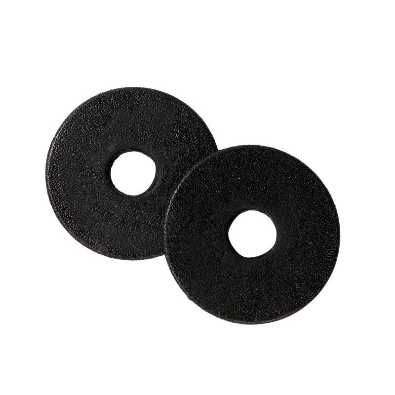 Metalab Släta Bettplattor svart
