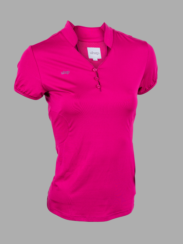Uhip Technical SS Top Cherrie Pink