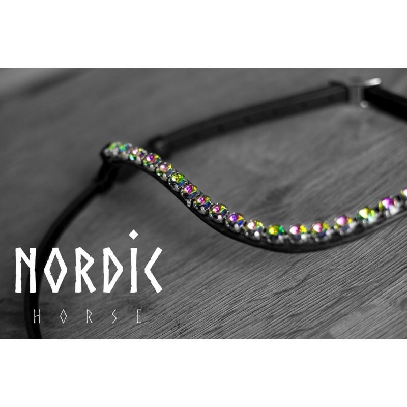Nordic Horse Huvudlag med stora stenar Prisma