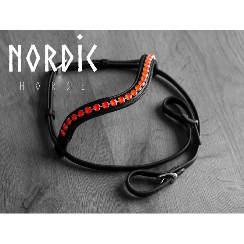 Nordic Horse Huvudlag med Stora stenar