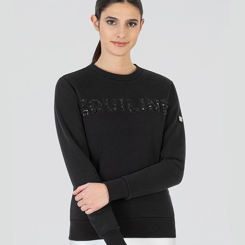 Equiline Gefrag Sweatshirt svart