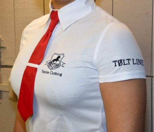 Tävlingstopp Töltline med slips