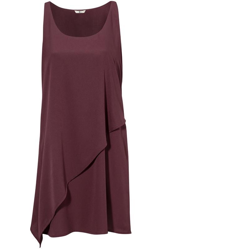 Capri Winona Dress Vinröd
